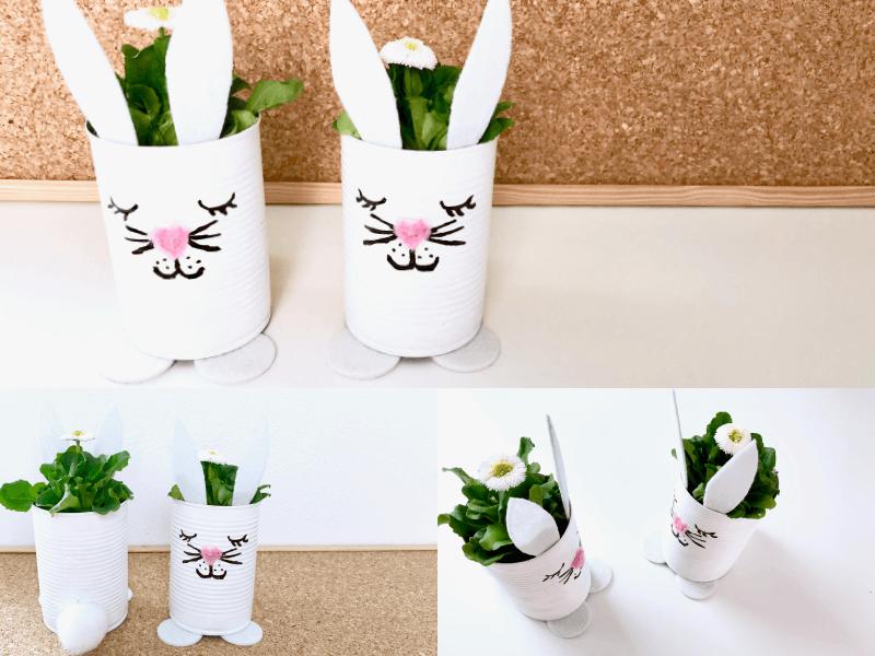 Blumentopf Hase