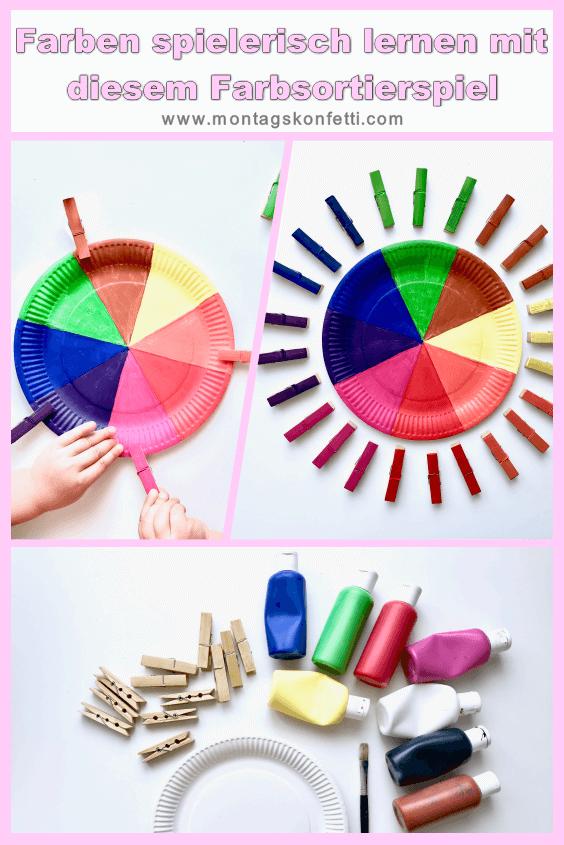 Farbsortierspiel