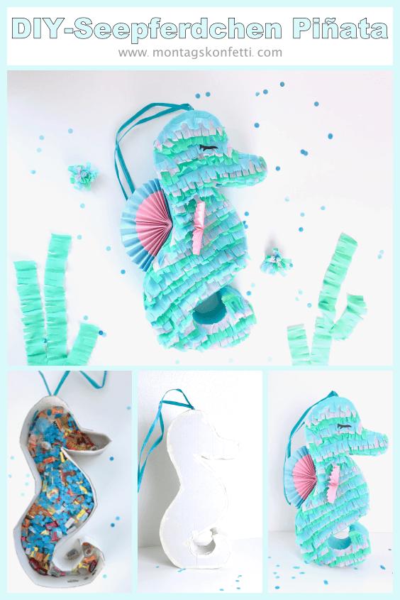 DIY Seepferdchen Piñata Pinterest2