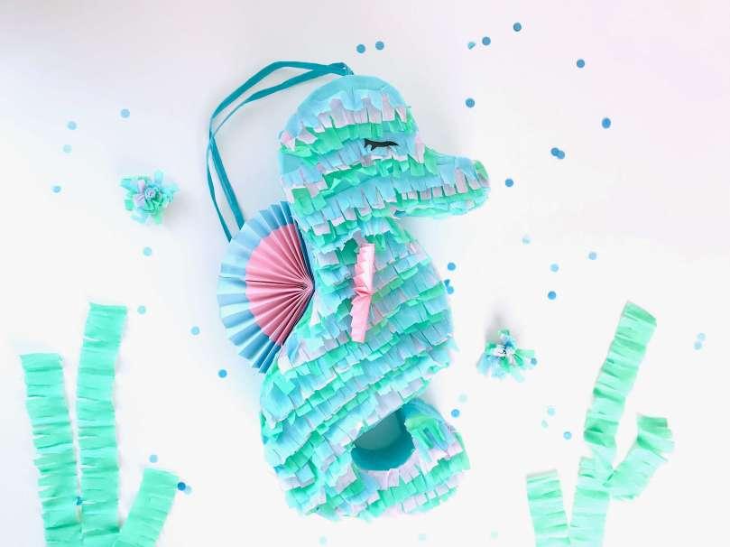DIY Seepferdchen Piñata36