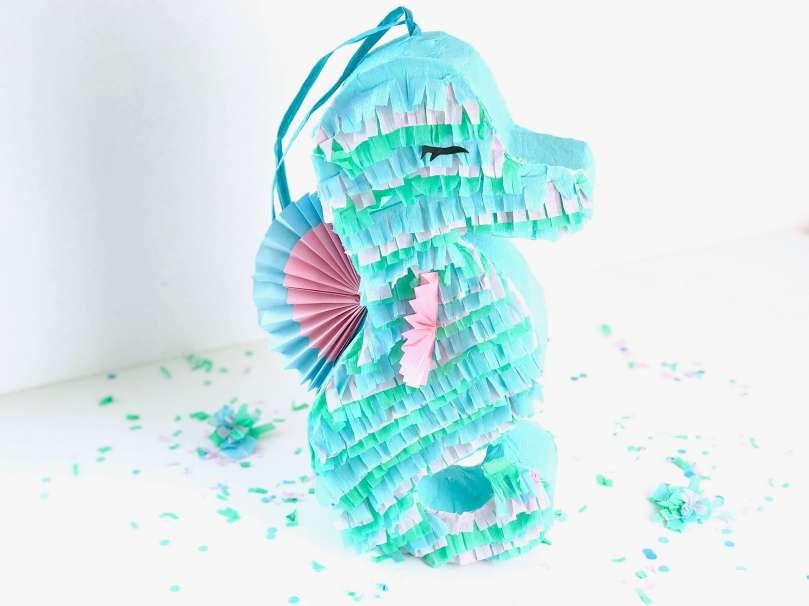 DIY Seepferdchen Piñata39