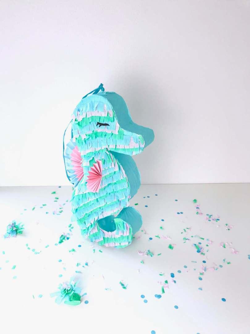 DIY Seepferdchen Piñata41