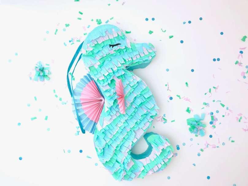 DIY Seepferdchen Piñata42