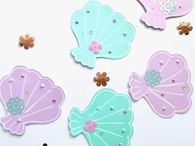 Einladungskarten Meerjungfrauengeburtstag13